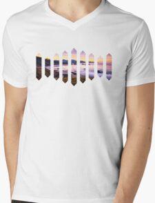 Sufjan Stevens Beach Oregon Design Mens V-Neck T-Shirt