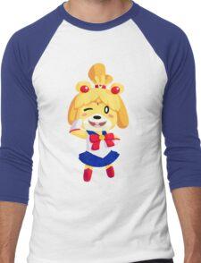 Sailor Bell Men's Baseball ¾ T-Shirt