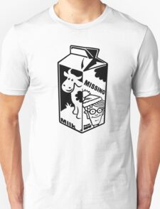 Where's Wally Milk Carton T-Shirt