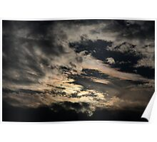 phenomena. north indian sky Poster
