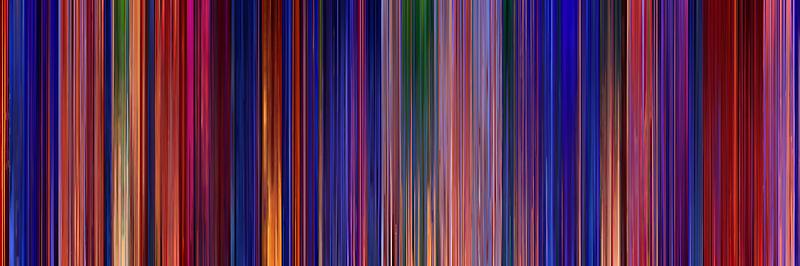 Moviebarcode: Aladdin (1992) by moviebarcode
