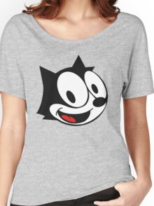smiling felix the cat Women's Relaxed Fit T-Shirt