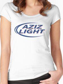 Aziz Light Women's Fitted Scoop T-Shirt