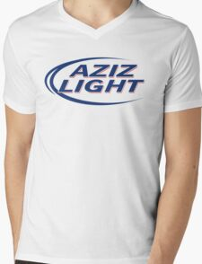 Aziz Light Mens V-Neck T-Shirt