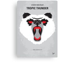 No344 My TROPIC THUNDER minimal movie poster Canvas Print