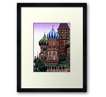 Moscow 2 Framed Print