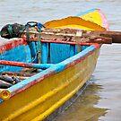 Fishing Boats of Bali by Ali Brown