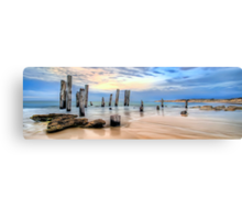 Moods Of Port Wilunga Panorama Canvas Print