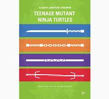 No346 My Teenage Mutant Ninja Turtles minimal movie poster Unisex T-Shirt