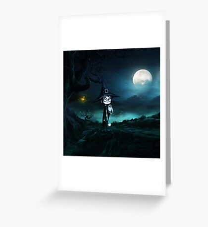 Witch at The Nightmare Greeting Card