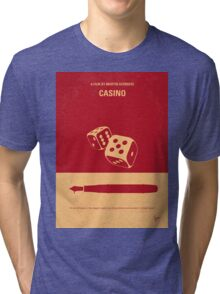 No348 My Casino minimal movie poster Tri-blend T-Shirt