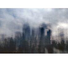 The Metropolis: Dawn Photographic Print