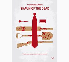 No349 My Shaun of the Dead minimal movie poster T-Shirt