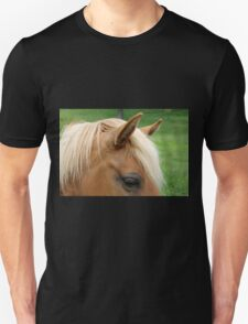 horse's eye in the foreground  Unisex T-Shirt
