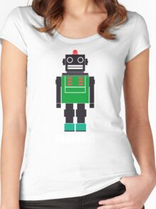 Paranoid Android Radiohead Tshirt Women's Fitted Scoop T-Shirt