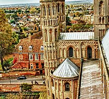 Ely Cathedral, Cambridgeshire by Simon Duckworth
