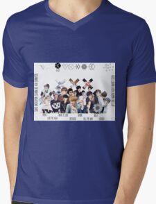 EXO - Collage Mens V-Neck T-Shirt