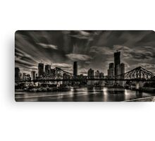 Sky rush Canvas Print