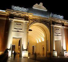 Modern Menin Gate at Midnight by BecsPerspective