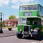 Vintage Bristol Bus by funkybunch