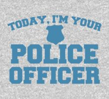 Today, I'm your police officer One Piece - Short Sleeve
