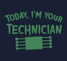 Today I'm your technician One Piece - Short Sleeve