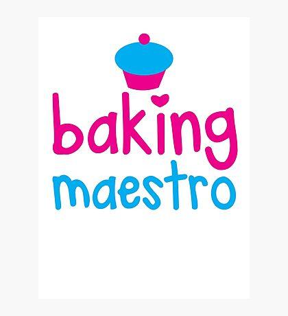 Baking Maestro Photographic Print