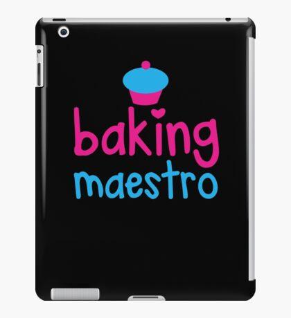 Baking Maestro iPad Case/Skin