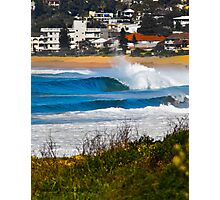 Narrabeen Barrels Photographic Print