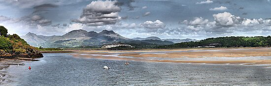 Snowdonia . by Irene  Burdell