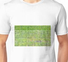 Fence and Grass Unisex T-Shirt