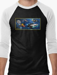 Parzival Departing Falco - Ready Player One Men's Baseball ¾ T-Shirt