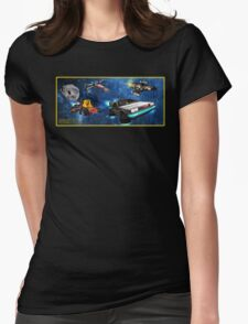 Parzival Departing Falco - Ready Player One Womens Fitted T-Shirt