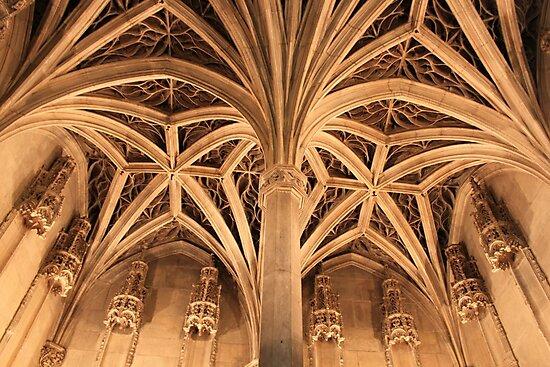 Gothic ceiling by Elena Skvortsova