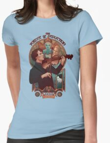The Science of Deduction Womens Fitted T-Shirt