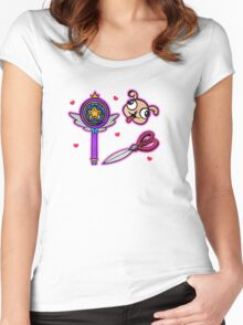 Star Vs. The Forces Of Evil Items Women's Fitted Scoop T-Shirt