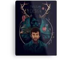 This is My Design Metal Print
