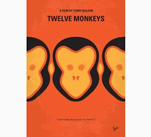 No355 My 12 MONKEYS minimal movie poster Unisex T-Shirt