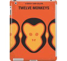 No355 My 12 MONKEYS minimal movie poster iPad Case/Skin