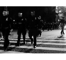 one city... 34,000 cops Photographic Print