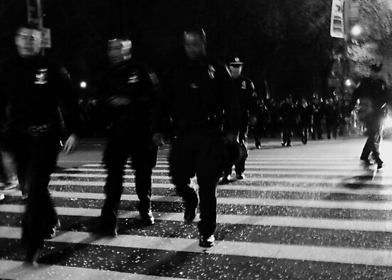 one city... 34,000 cops by greg angus
