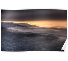 Play Misty For Me - Merlins Lookout, Hill End,NSW - The HDR Experience Poster