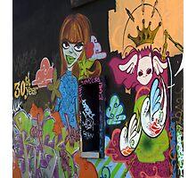 Graffiti in La Rochelle Photographic Print