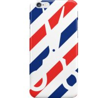 Barber Scissors iPhone Case/Skin