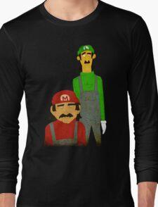 The Super Mario Bro's Long Sleeve T-Shirt
