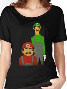 The Super Mario Bro's Women's Relaxed Fit T-Shirt