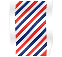 Barber Stripes Poster