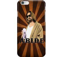 Abide. iPhone Case/Skin