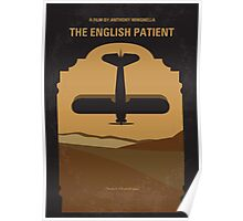 No361 My The English Patient minimal movie poster Poster