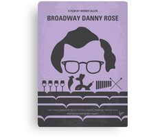 No363 My Broadway Danny Rose minimal movie poster Canvas Print